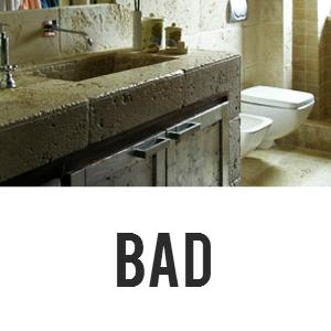 waschbecken bad aus travertin
