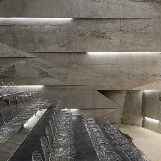 Projekte mit Stein: das Konzerthaus Blaibach