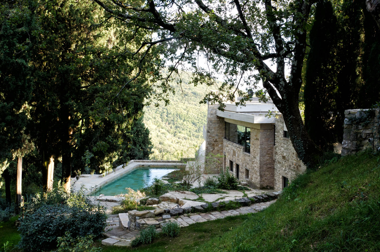 villa waddell in fiesole by architect and designer thedore waddell florence hills architecture