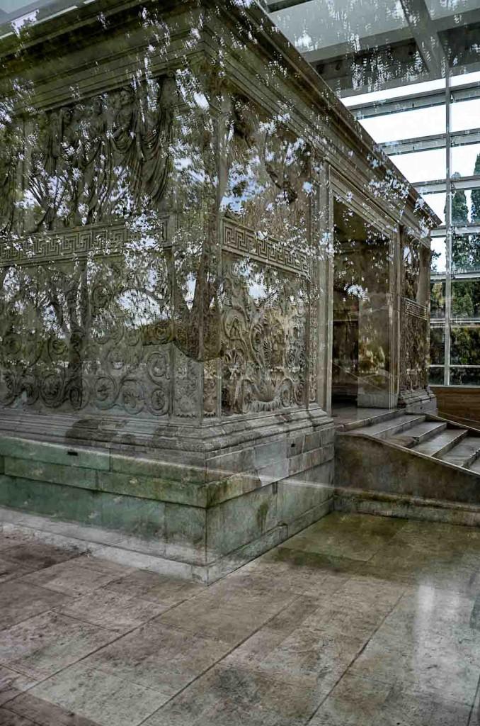 Richard Meier Architekt Museum Ara Pacis Rom Travertin
