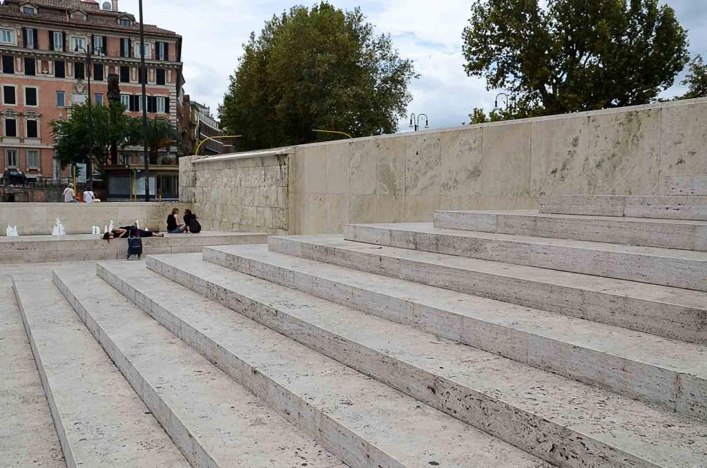 Museum Ara Pacis roma Italienisch Travertin Museumsarchitektur