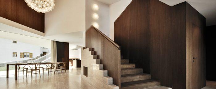 Ein Projekt des Architekturbüros Modus für ein Haus in Südtirol