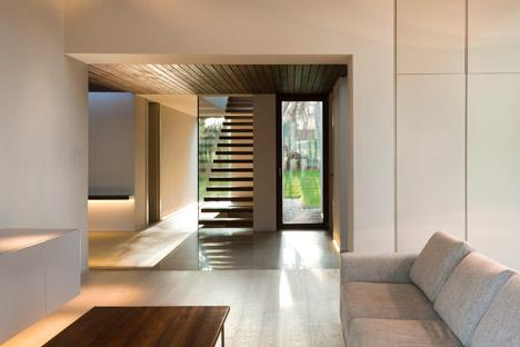 casa el bosque in Stein und Holz spanien