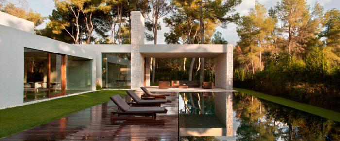 Casa El Bosque aus Naturbaustoffen