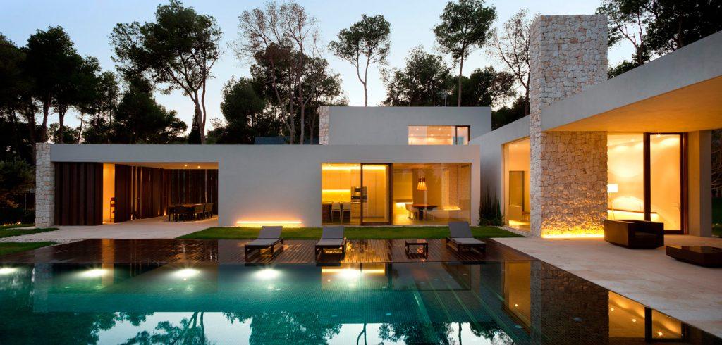 Stein außen, Architektur , Spanien