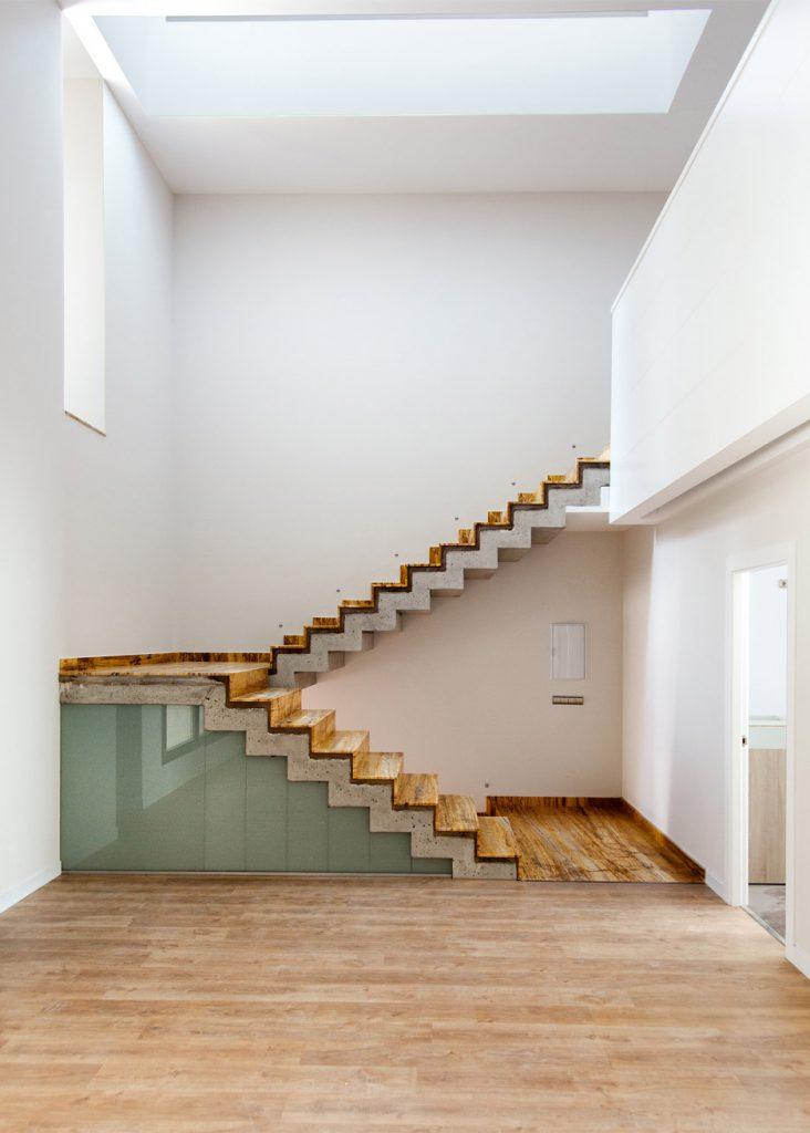 travertin fassade Architekt