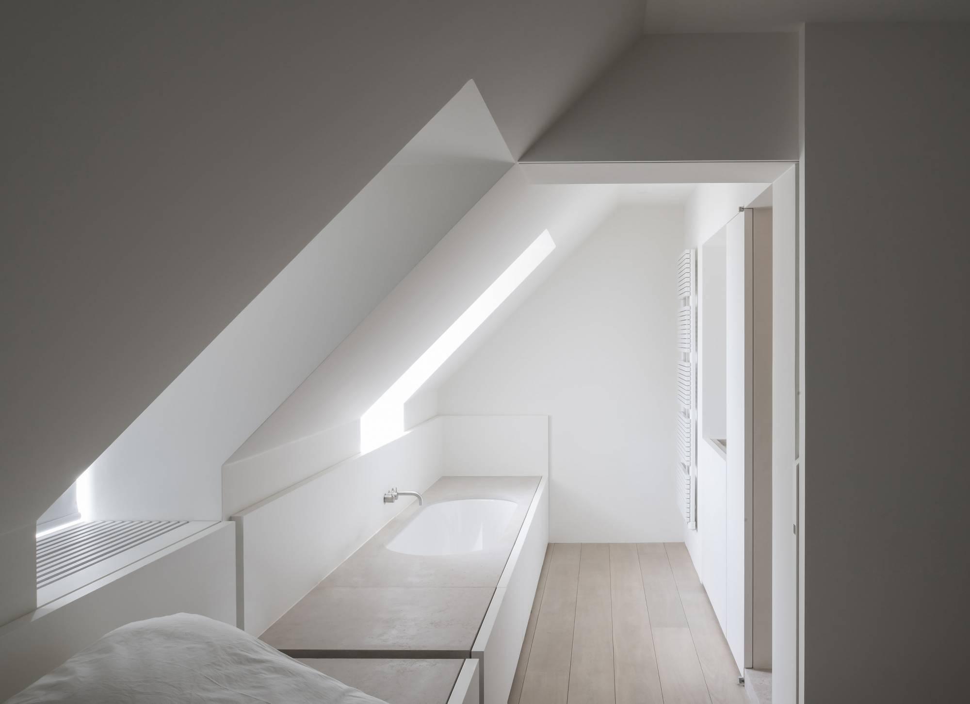 belgium vincent van duysen designer interior travertine wood