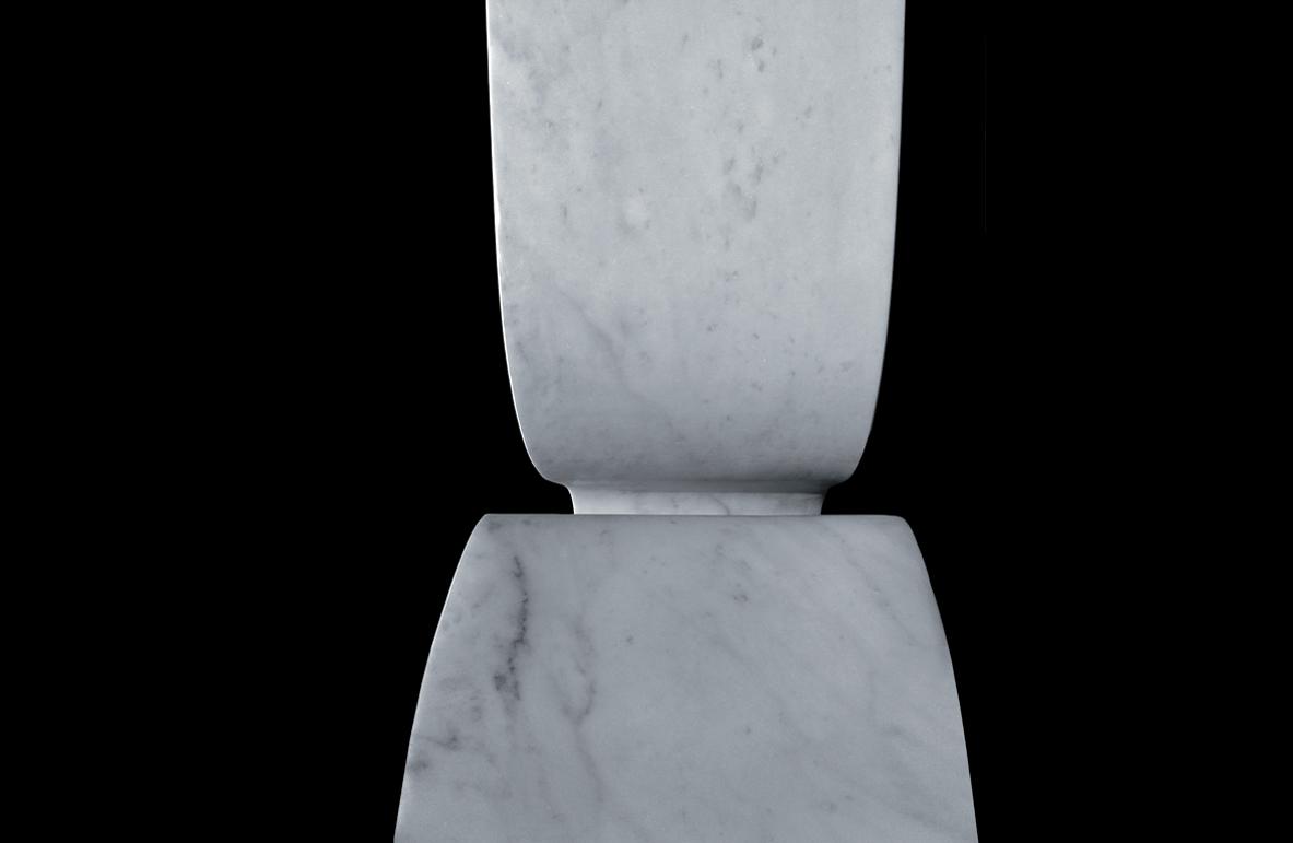 Stein Stuhl von Victor Gingembre