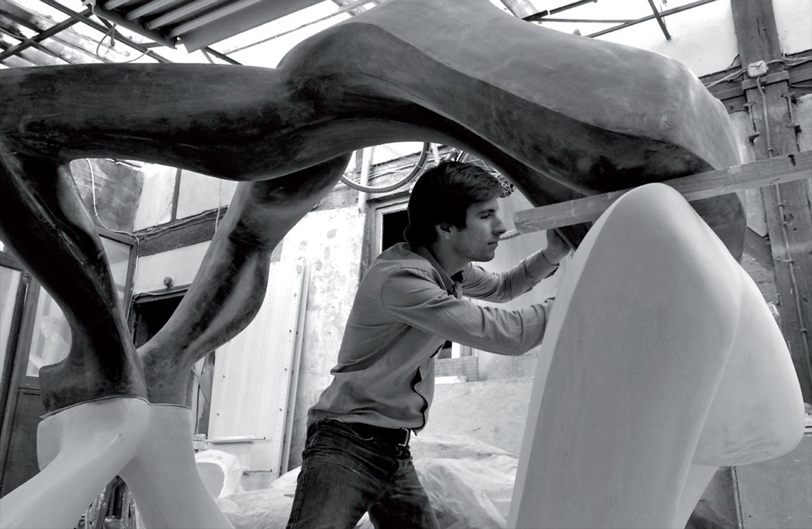 Skulptur und Architektur aus Stein Victor Gingembre designer