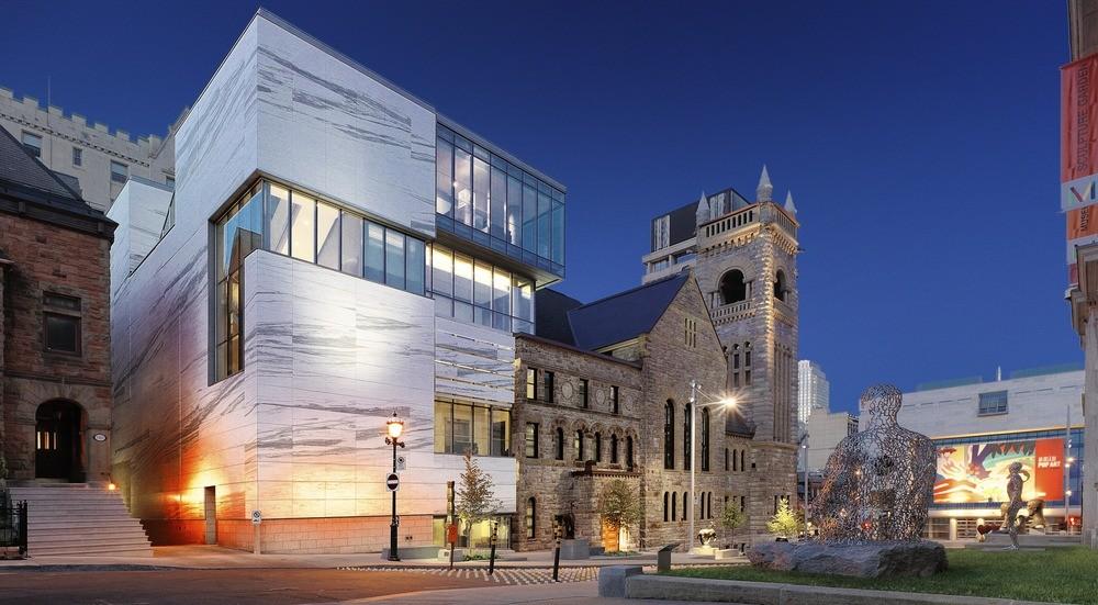 Kirche umgewandelt in ein Museum mit Marmor