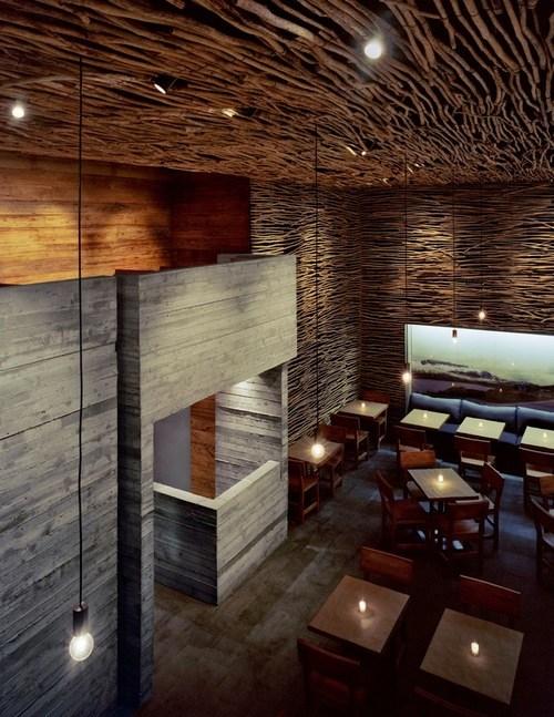 Pio Pio restaurant in new york, entworfen von sebastian mariscal architect