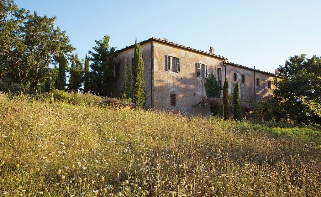 altes Kloster in Pitigliano, Toskana