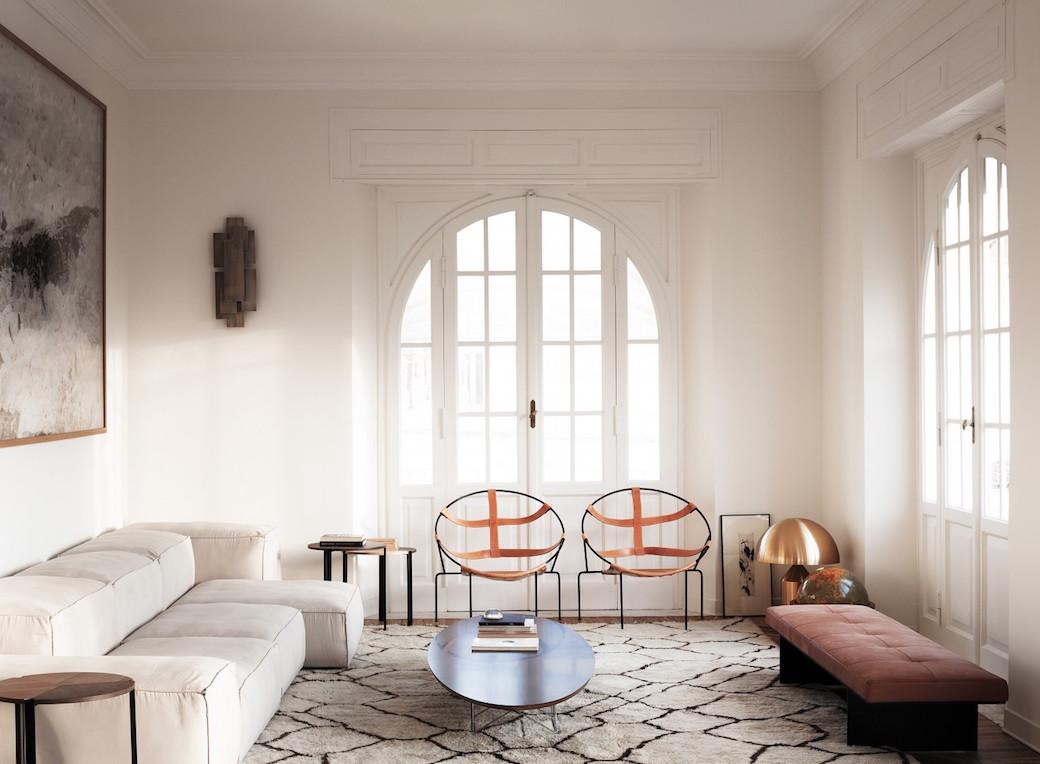 Appartement aus den 21er Jahren in Rom nach dem Projekt von ...