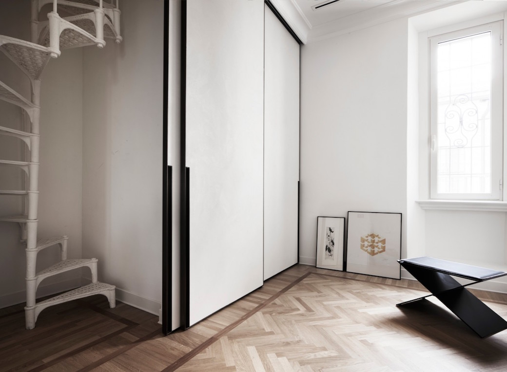 Wohnung Interieur in Rom von Quincoces-Dragò entworfen